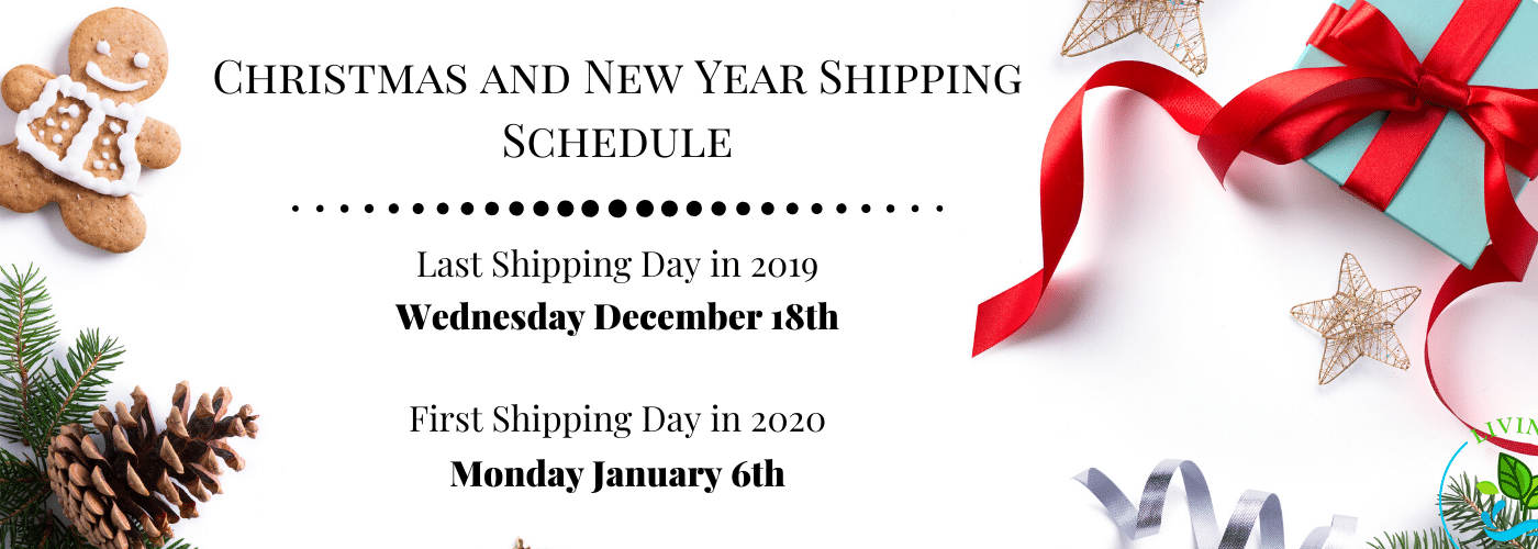 Christmas and New Year Shipping