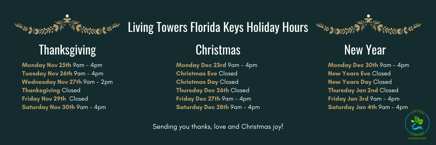 Living Towers Fl Keys Holiday Hours